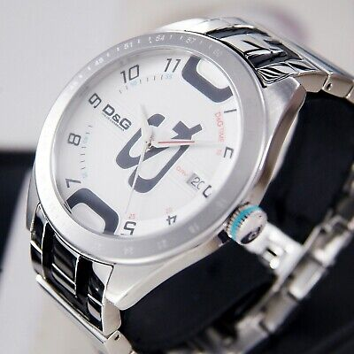 D&G Time Quartz Men's  Dress Watch