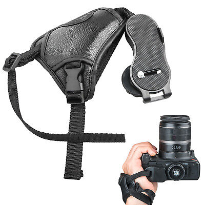 Canon Hand Strap - Cameras Leather Hand Grip Wrist Strap for Canon Nikon Sony Pentax Olympus DSLR