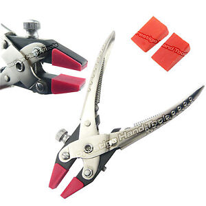 Parallel flat nose pliers with adjustable Double Nylon Jaws Prestige 6.5