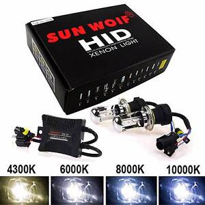 Brand new condition H4 55W 6000K HID conversion kit Heathridge Joondalup Area Preview