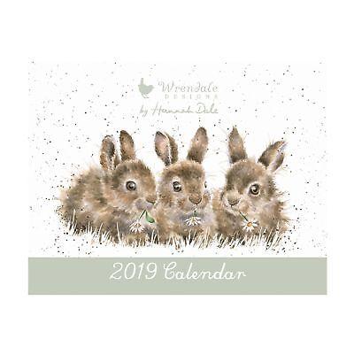 Wrendale Designs The Country Set 2019 Landscape Calendar - A3 Wall Calendar