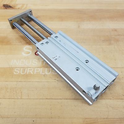 Smc Mgpm25-150a Pneumatic Compact Guide Cylinder 25mm Bore 150mm Stroke - Used
