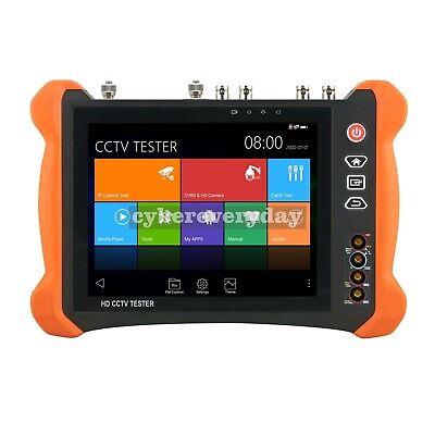 X9-adhs Cctv Tester Monitor Ahdcvitvisdi Multimeter Ip Cam Tester