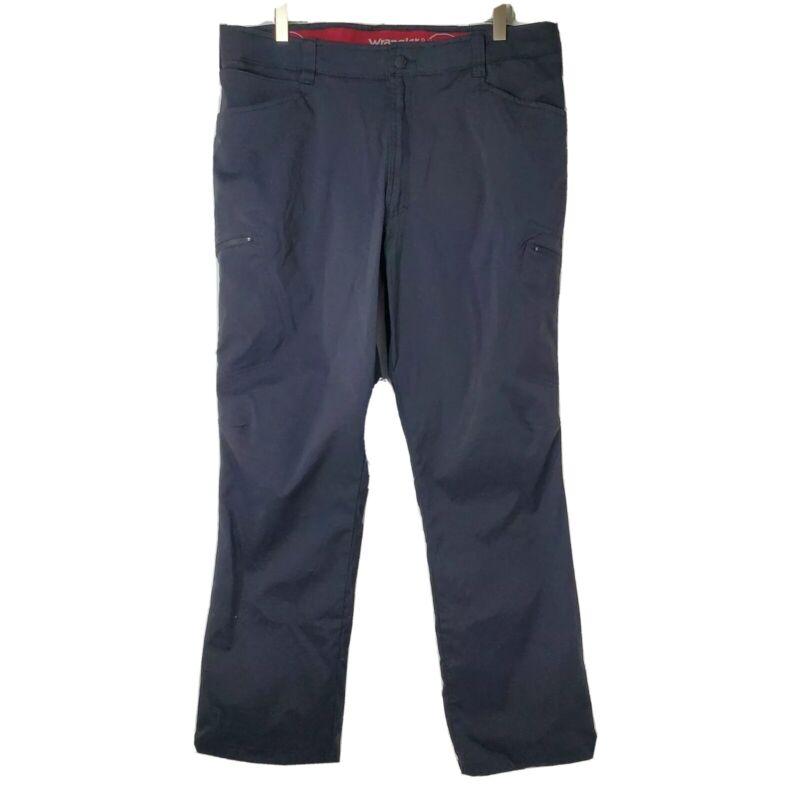 Wrangler Outdoor Series Mens Size 36x30 Black Nylon Blend Hiking Pants