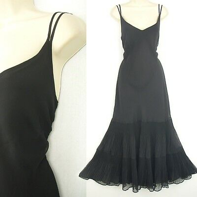 Ladies long black dress size 20 evening occasion cocktail party