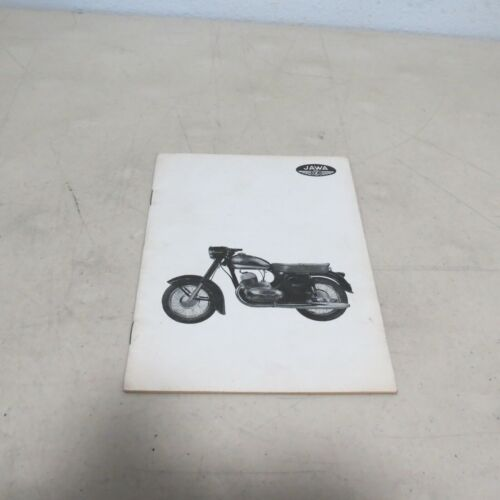 VINTAGE JAWA BROCHURE MODIFYING MOTORCYCLES FOR HIGH POWER OUTPUT MANUAL