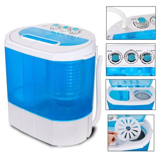 Mini Portable 9lbs Washing Machine Compact RV Dorm Laundry Washer Spin Dryer Home & Garden