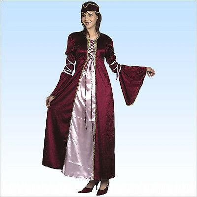 Samtkostüm Renaissance Prinzessin Gr. 40/44 (M/L)  Adlige Hofdame - Hofdame Renaissance Kostüm