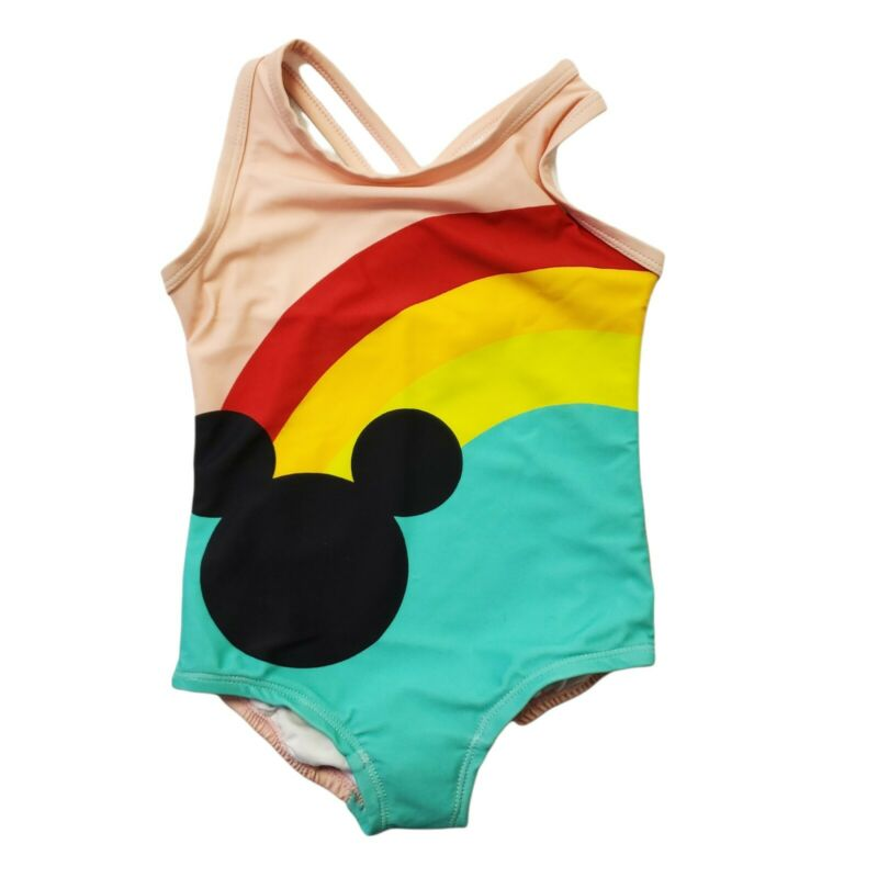 Hanna Andresson Girls Bathing Suit Sz 18 - 24 M Disney Mickey Mouse One Piece