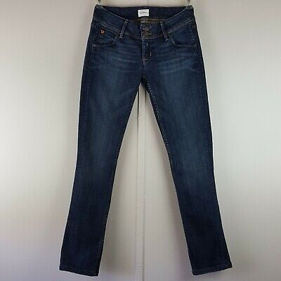 HUDSON Collin Flap Pocket SKINNY Signature Jean in Santorini Crop Size 26