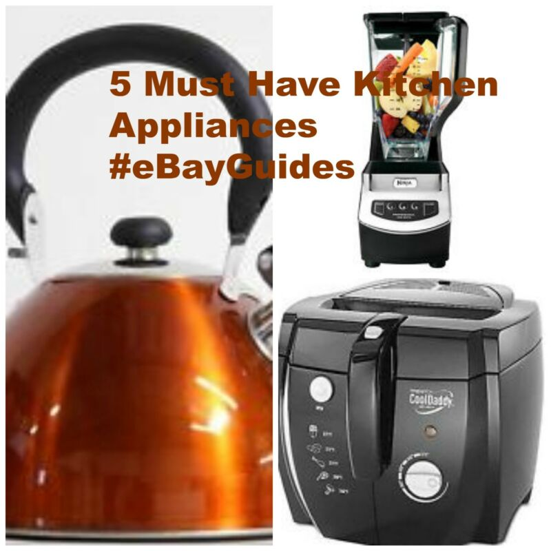 5 must have kitchen appliances ebay for Must have appliances