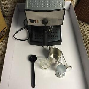 Krups coffee machine Espresso cappuccino cafe stainless steel Parramatta Parramatta Area Preview