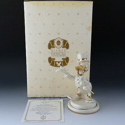 Lenox China DEBONAIR Donald Duck Walt Disney Showcase Figurine Tuxedo MIB & COA - Lenox Walt Disney Showcase