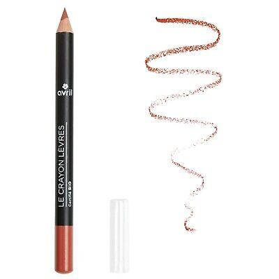 Crayon contour des lèvres Nude Certifié Bio 100% Naturel Cosmétique AVRIL