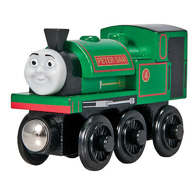 THOMAS THE TANK ENGINE - WOODEN PETER SAM **2011** RETIRED **NEW IN BOX**HTF**