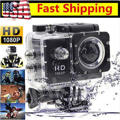 2017 New Black Full HD SJ4000 12MP HD 1080P Sports DV Action Waterproof Camera