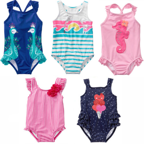 Gymboree Baby Toddler Girl 1pc Swimsuit UPF 50+ 18 24 Mos 2T NWT Retail Store