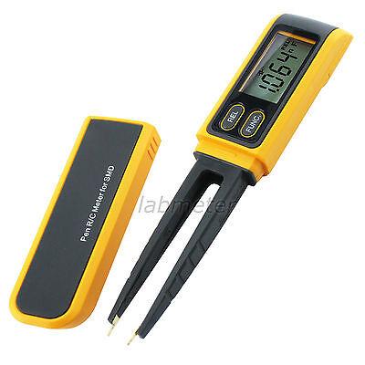 Tweezers Capacitance Resistance Diode Test Tester Pen Multimeter Meter R C Smd