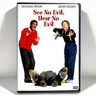 See No Evil, Hear No Evil (DVD, 1989, Widescreen) Like New !  Richard (Richard Pryor See No Evil Hear No Evil)