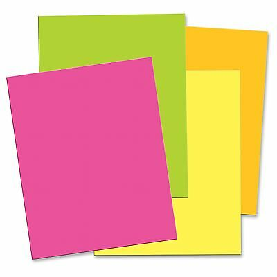 Pacon Matte Neon Foam Boards - 30 X 20 - 12 Pack - Hot Pink Hot Lemon Hot