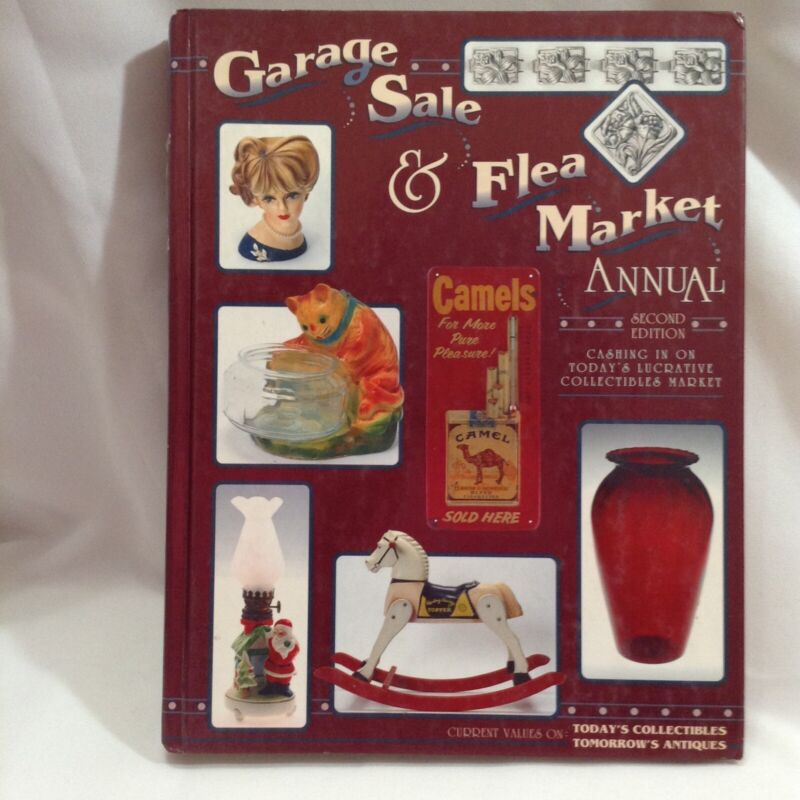 Garage Sale & Flea Market Annual Reference Large HB Book 2nd Edition 1994