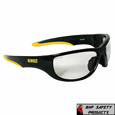 Dewalt Dpg94-1c Dominator Safety Glasses Clear Lens Ansi Z87