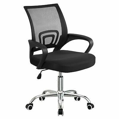 Executive Armrest Swivel Office Mesh Chair Comfy Computer Desk Ergonomic 360°
