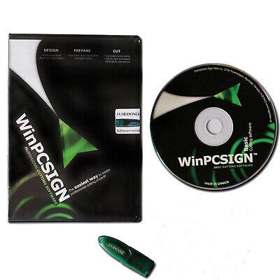 Winpcsign Basic 2012 Vinyl Cutting Plotter Cutplot Design Software Functional