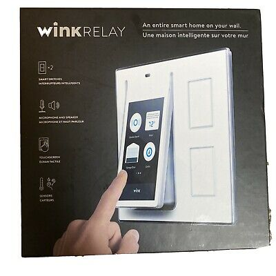 Wink Relay, Touch Screen Smart Home Switch/controller - New (other)