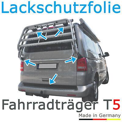 Schutzfolie Fahrradträger Heckträger VW T5 Bus Bulli T5.1 / T5.2 von 2003 - 2015