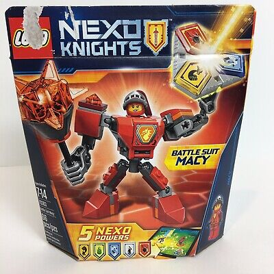 Lego Nexo Knights Battle Suit Macy 70363 Building Kit Toy 66 Pieces Mini Figure