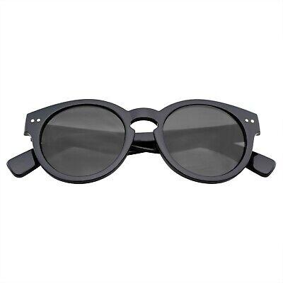 Vintage Fashion Bold Circle Round Sunglasses W/Key-Hole (Holes Sunglasses)