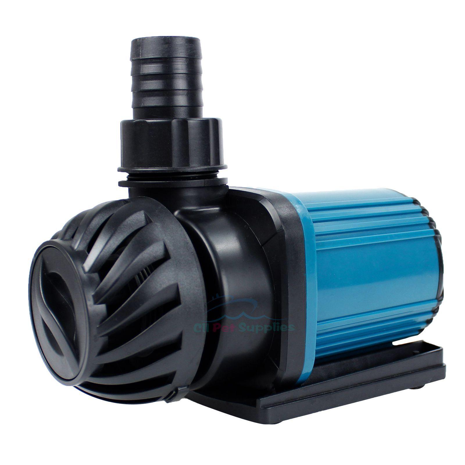 Aquarium 1200-3200GPH Pond Pump Fountain Submersible Inline Hydroponics 2