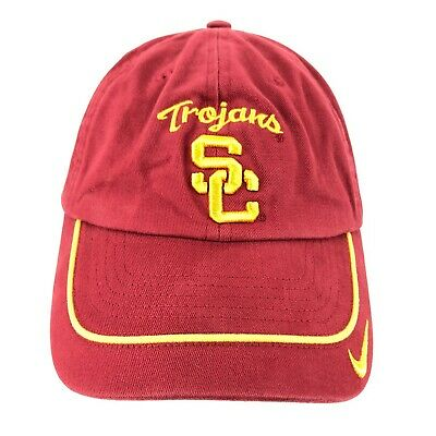 269cdfdbc00c90 VINTAGE Nike USC University of Southern California Trojans Rose Bowl Hat Cap