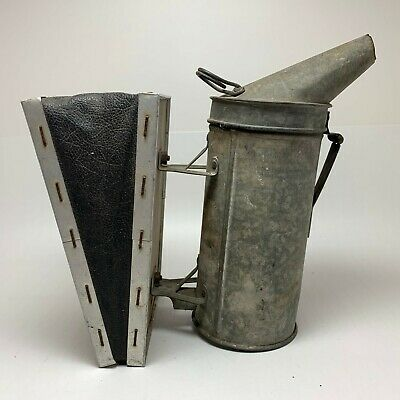 A.i. Root Quality Bee Supplies Bellowed Hive Smoker - Vintage Quite Useable