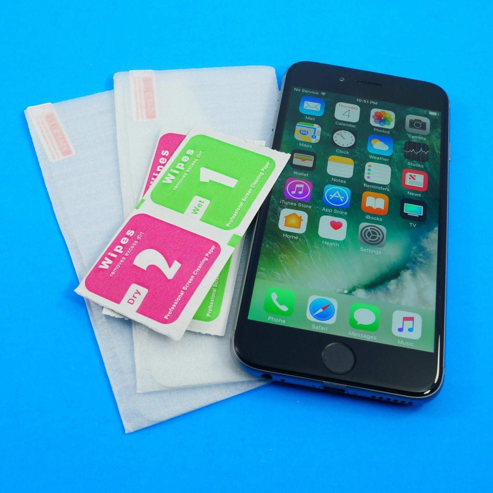 HD Tempered Glass Or Plastic Screen Protectors Lot For iPhon