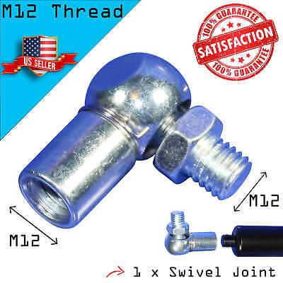 1 Swivel Ball Joint for Lambo Vertical Bolt On Door Kit - for M12 Shock Thread
