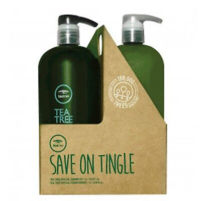 Paul Mitchell Tea Tree Special Shampoo and Conditioner Duo 33.8 oz / Liter Duo