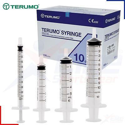 Terumo Sterile Syringes Hypodermic Luer Slip Syringe 1ml 2.5ml 5ml 10ml 20ml 30m