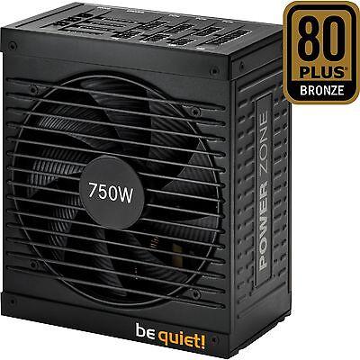 be quiet! POWER ZONE 750W, PC-Netzteil, schwarz