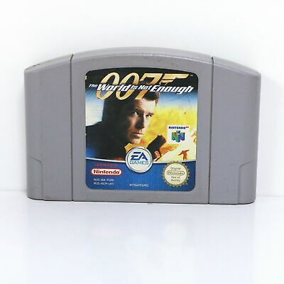 007 The World Is Not Enough - Nintendo 64 N64 Game - Cart Only
