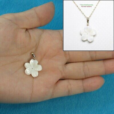Beautiful 8.5-9mm White Cultured Pearl Hand Knot Necklace 925 Silver Clasp TPJ