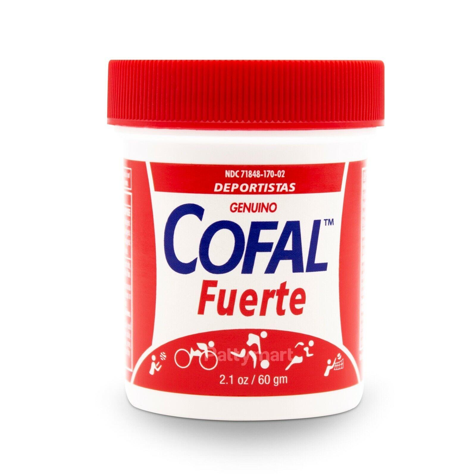 COFAL FUERTE GENUINO PARA DOLOR 2.1 OZ - FOR MUSCULAR PAIN, ARTHRITIS, BACK PAIN
