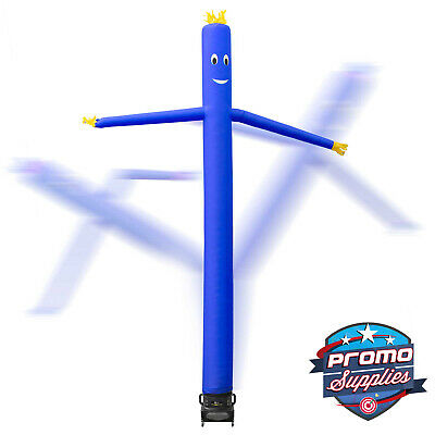20 Inflatable Dancer Tube Dancing Guy Blower Fan - Blue