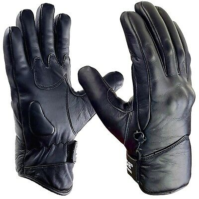 Blade® Leather Best Waterproof Thermal Warm Winter Motorcycle Motorbike