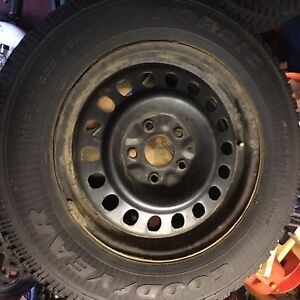 Good Year Nordic Winter Tires 235 R65 17