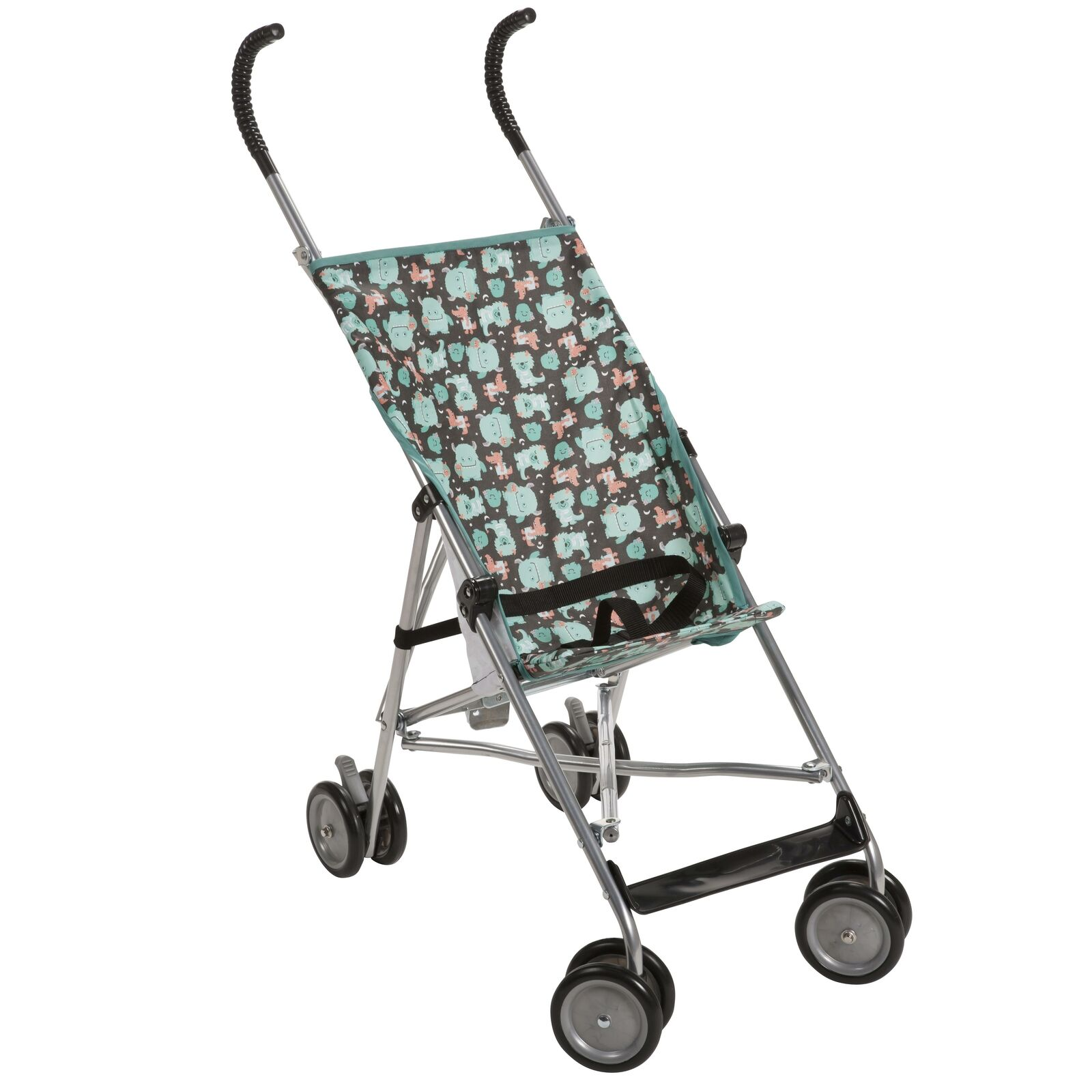 Cosco Umbrella Stroller Without Canopy Sleep Monsters Blue ...