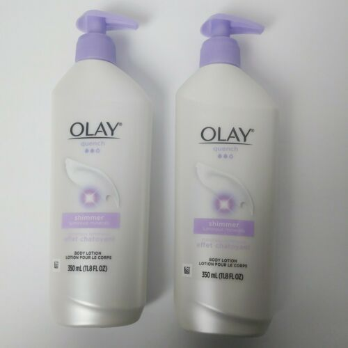 Olay Quench Daily Lotion Plus Shimmer With Vitamins E & B3,