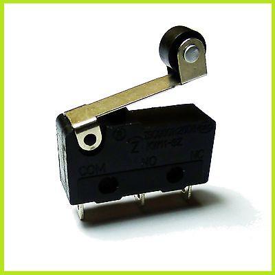 Näherungsschalter Microschalter Microswitch Taster 250V/3A Rollenhebel Schalter