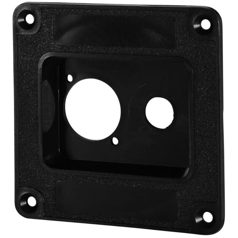 "Speaker Cabinet Dish M1503 ABS Dish One 1/4"" + One D series XLR, etc."